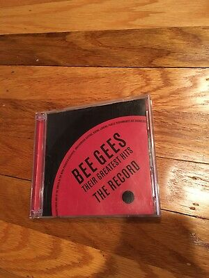 Bee Gees Their Greatest Hits 2 Cd Set The Record