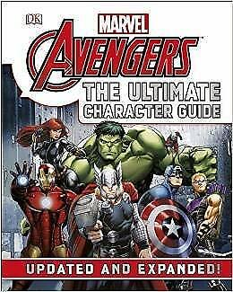 Marvel Avengers the Ultimate Character Guide Updated and Expanded! [Paperback]