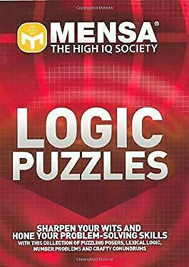 Mensa Logic Puzzles by Russell, Kenneth A.-ExLibrary