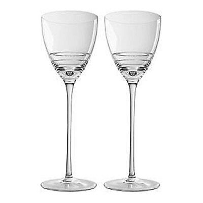 waterford John Rocha * FOLIO 1 * RED WINE Glasses (BOX OF 2)   NEW