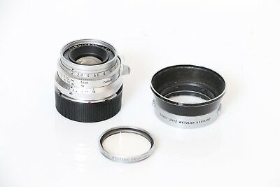 Leica Summicron 35mm f/2 Lens M-mount 8 element Type 1 Modified - READ!!!