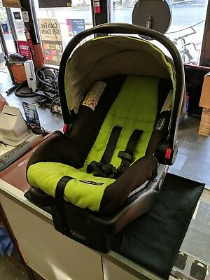 Graco Snugride 30 Cick Connect Infant Car Seat Green Baby Seat