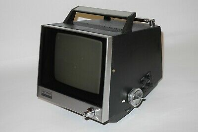 SONY TV-720U Vintage Portable Black and White Television