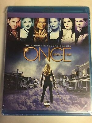 Once Upon a Time: The Complete Second Season 2(Blu-ray, 2013, 5-Disc Set) NEW!