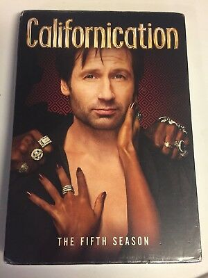 Californication:The Fifth Season 5(DVD,2012,2-Disc Set)Brand New Factory Sealed!