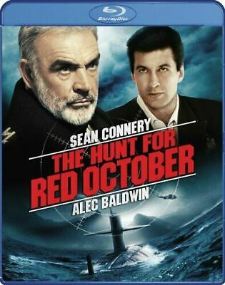 THE HUNT FOR RED OCTOBER New Sealed Blu-ray Sean Connery