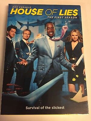 House of Lies:The First Season 1(DVD,2012,2-Disc Set) Brand New Factory Sealed!!