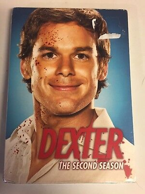 Dexter-The Complete Second Season 2(DVD,2008,4-Disc Set)Brand New factory Sealed