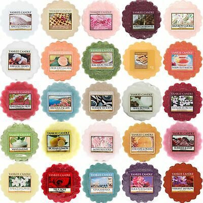 YANKEE CANDLE Wax Tarts Melts FREE P&P FOR EACH EXTRA TART - LARGE SELECTION