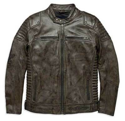 Brand New Genuine Harley Davidson Leather jacket HAMILTEN  97192-18VM Mens