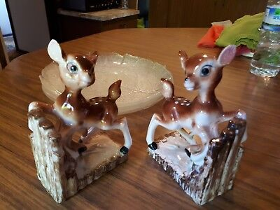 Vintage Bambi Bookends