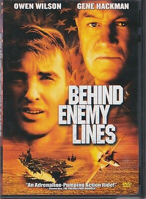 Behind Enemy Lines (DVD, 2006, Single Disc, Former Rental) 024543043041