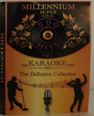 Karaoke Millennium vol-1 Super CD+G it Plays on Cavs or PC/with MP3 + Song List