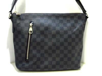 e585c9edef93 AUTH LOUIS VUITTON PDV GM Business hand Shoulder Bag N41123 Damier ...