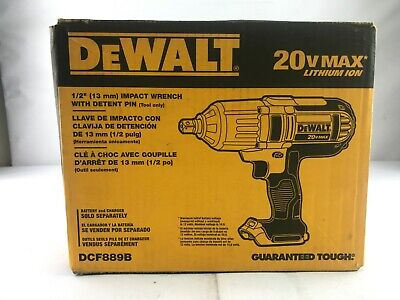 """DEWALT DCF889B 20V MAX Lithium Ion 1/2"""" High Torque Impact Wrench (Tool Only)"""