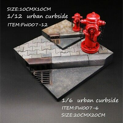 Pre-order FEELWOTOYS 1/6 Scale URBAN CURBSIDE FE007-6 Diorama For 12in Figure