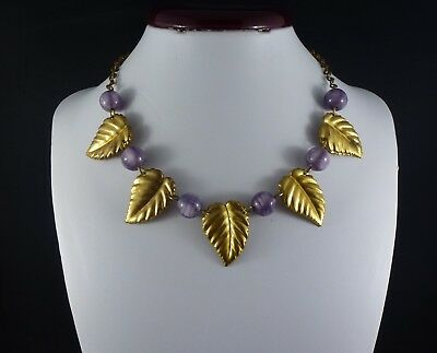 Original 1930's art deco necklace