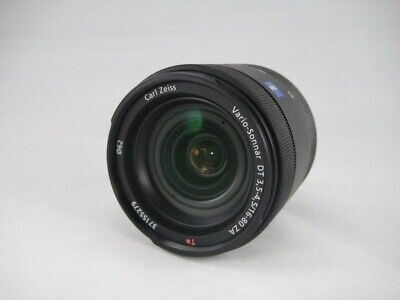 Sony Zeiss Lens  Vario-sonnar DT 16-80mm f3.5-4.5 used from Japan [A++]