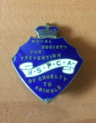 RSPCA Royal Society For Prevention Of Cruelty To Animals Badge