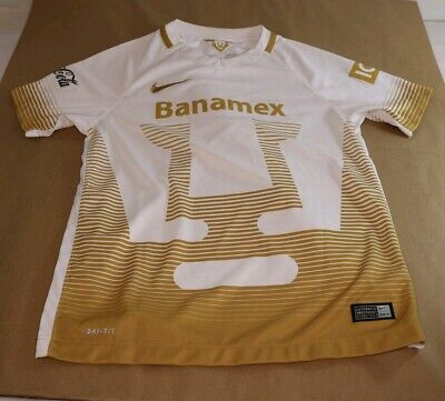 best website 8fc1f 49a7e NIKE PUMAS UNAM YOUTH HOME JERSEY 2015/16 Size Large
