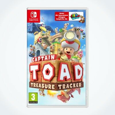 CAPTAIN TOAD : Treasure Tracker sur Nintendo SWITCH / Neuf / Sous Blister / VF