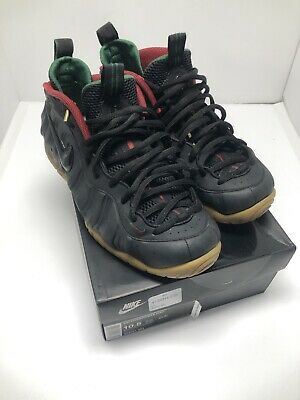 7da99b85d28 AIR FOAMPOSITE PRO Gucci 624041-004 Black Gorge Green-Metallic Gold ...