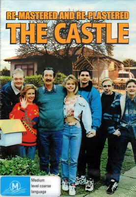 The Castle - Re-mastered & Re-plastered - New & Sealed DVD