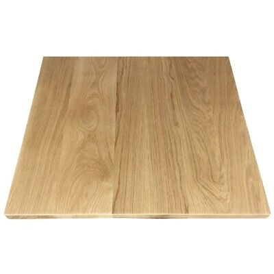 American Oak Timber Table Top Solid Wood - 700 x 700