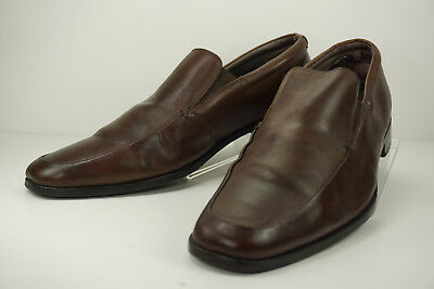 da0a62f58e0 Gordon Rush Men s sz 10 Elliot Brown Square Toe Slip On  0 100273 Leather
