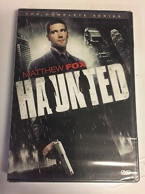 Haunted: The Complete Series (DVD, 2010, 2-Disc Set) Brand New Factory Sealed!