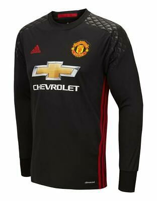 403ada1c4 New Manchester United 2016 17 Home Long Sleeve Goalkeeper Shirt Junior XL  13-14