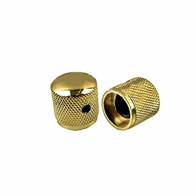 1pcs Guitar Metal Dome Knob Volume Tone Control for Electric Guitar Gold