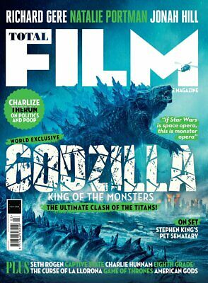 Total Film Magazine March 2019 GODZILLA: KINGS OF THE MONSTERS COVER FEATURE