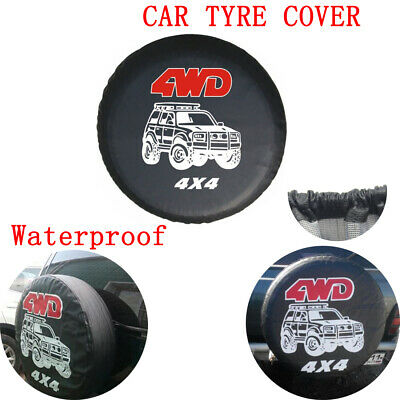 4X4 Car Waterproof Tyre Cover 4Wd Spare Wheel Tire Rear Cover For Kia Vw Honda