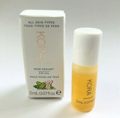 Kora Organics Noni Glow Face Oil Radiant Eye Oil Travel Size Mini