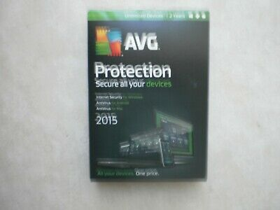 AVG Protection 2015 - Unlimited Devices / 2 Years (Windows & Mac OS & Android)