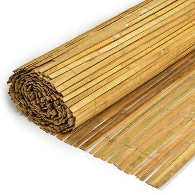 *NEW* BAMBOO SLAT FENCE (ALL SIZES) Garden Fencing Panel Outdoor Privacy Fence