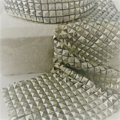 RIBBON SPARKLY Sugarcraft Cake decorating craft mesh SILVER EGYPTIAN PYRAMIDS