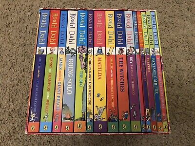 Roald Dahl Phizz Whizzing Collection Box Set X 15 Paperback Books FREE P&P