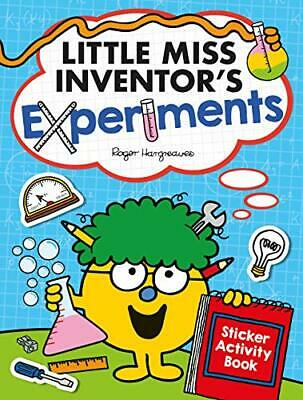 Little Miss Inventor's Experiments by Egmont Publishing UK New Paperback Book