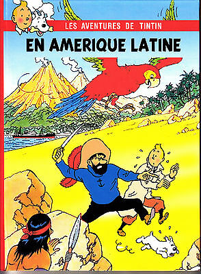 Hommage A Herge Tintin En Amerique Latine