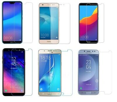 3x Panzerfolie Huawei P-Smart Mate 10 P20 P10 Honor iPhone 7 X Samsung S7 S6 A5