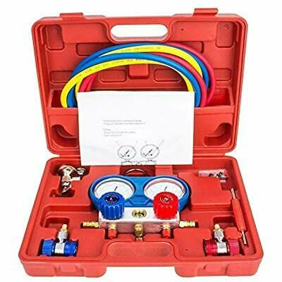 Air Conditioning Tools >> Manifold Air Conditioning Tools Equipment Gauge Set Diagnostic A C Kit R22 5