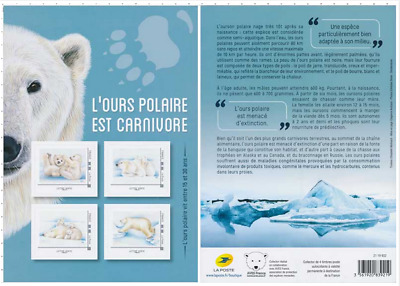 France 2019 Collector - Ours polaires 4v MNH / Neuf
