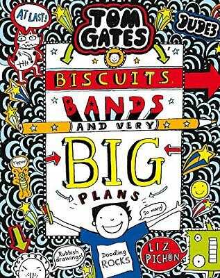 Tom Gates: Biscuits  Bands and Very Big Plans by Liz Pichon New Paperback Book