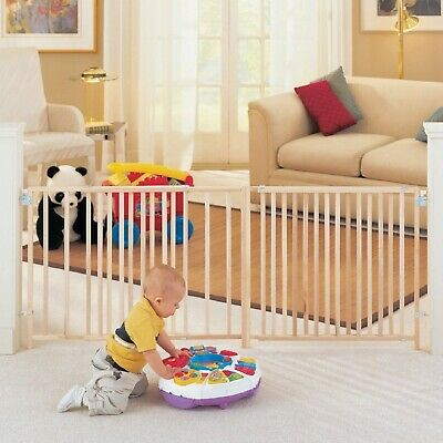 Safety Walk-Thru Gate Extra Tall Pet Dog Baby Child Safe Stairs Home Accessory