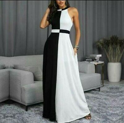 newest collection 1dd34 43fb6 TUTA ELEGANTE GONNA lunga jumpsuit vestito abito cerimonia da donna abito  lungo