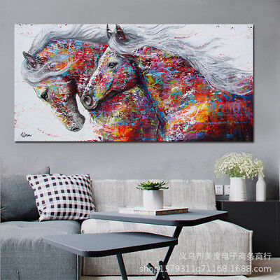 Stylish Animal Figure Abstract Wall Art Oil Painting Canvas Painted Poster