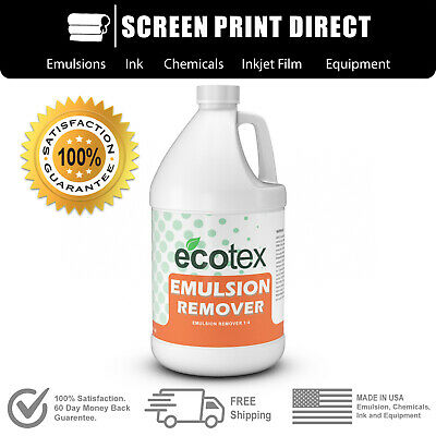 Ecotex® EMULSION REMOVER - Industrial Screen Printing Chemicals 1 Gal. - 128oz