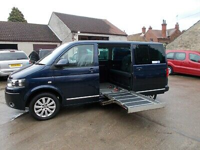 Wheelchair Accessible Wav Disabled Mobility Volkswagen Caravelle Exec Up Front